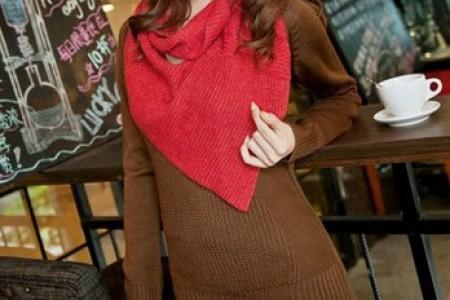 亲切舒适的秋冬毛衣