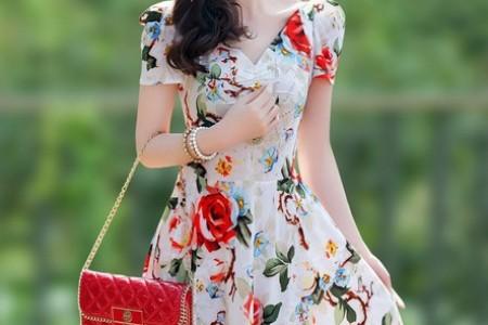 女人应该像夏花一样艳丽