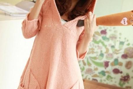 温暖可爱的宽松毛衣