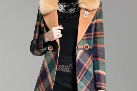 在二月、三月、冬春交替选择这件外套