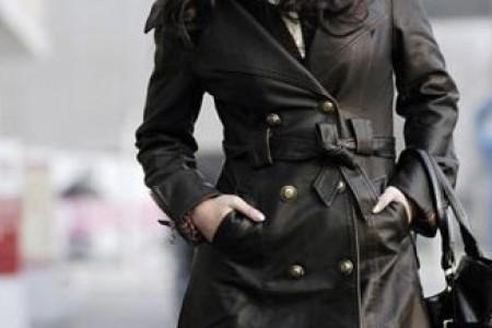 今冬流行皮衣