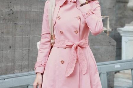 时尚风衣穿出多彩的心情