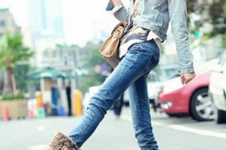 让高跟鞋休息吧。平底鞋是王道