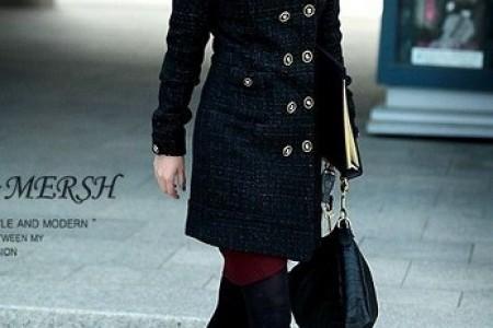 温暖浪漫的成熟女人气质外套