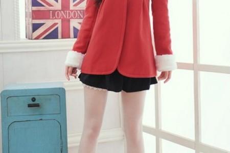 红色单品红色圣诞红色新年