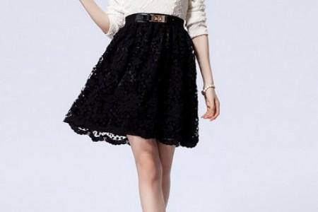 这条引人注目的裙子在秋冬季节闪闪发光