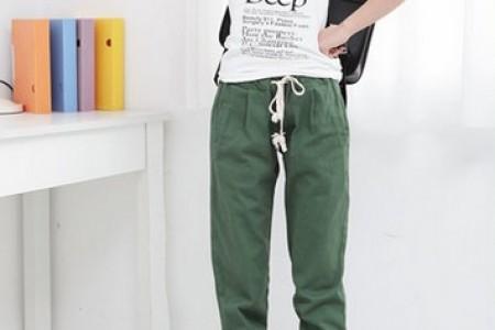 休闲裤和快乐舞蹈