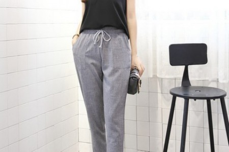 裤子也可以容纳凉爽的夏天