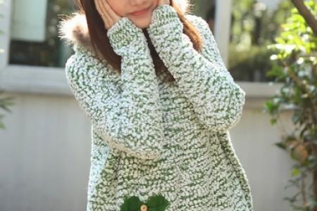 浪漫的雪花毛衣