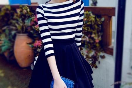喜欢这条裙子。