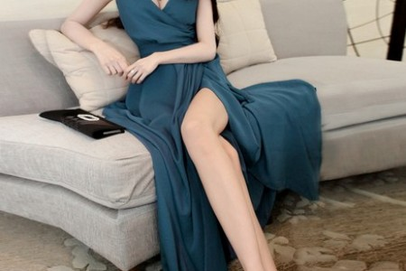 开叉裙:为美丽留一条缝隙