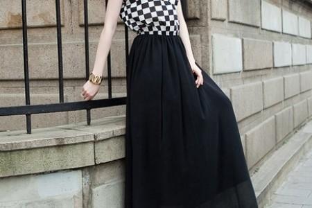 最美丽的浪漫是长裙——对比时尚