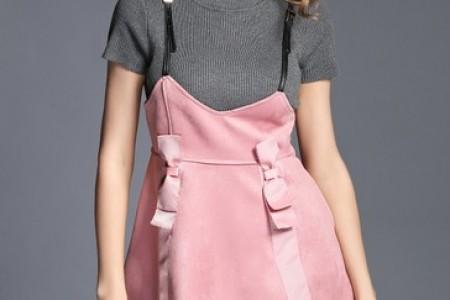 麂皮裙在秋天柔软、时尚、凉爽