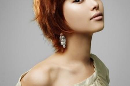 清爽的韩国发型和发色