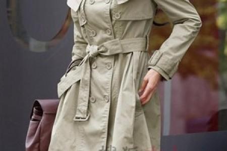 保暖时尚的经典风衣