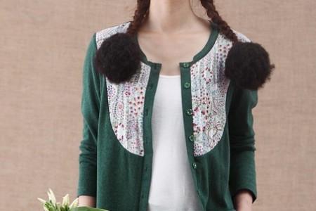 大春喜欢编织羊毛衫