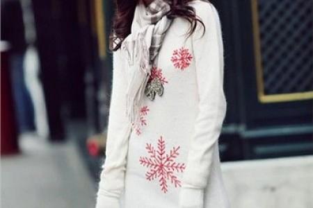 亲和舒适的冬季毛衣