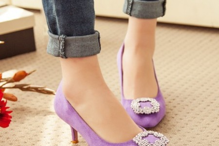 那些彩色的鞋子