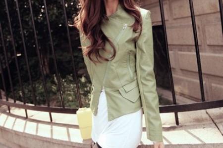 精致的皮衣帅气时尚