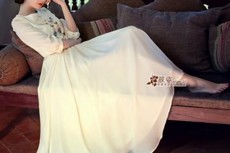 最喜欢的长裙如画