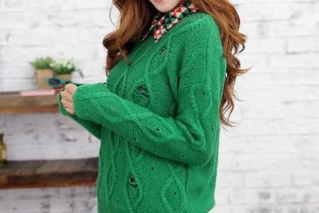 毛衣,我喜欢大号的