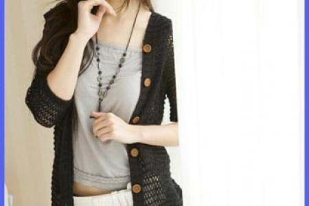 秋季针织夹克