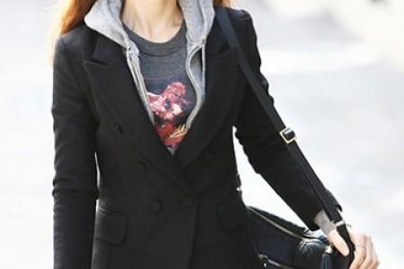 时尚呢子大衣,保暖又薄