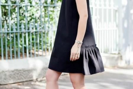 小黑裙夏天穿成这样,既能凉快又能单薄